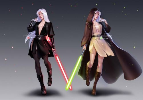 CM: Dark and light sides of the Force by OlchaS