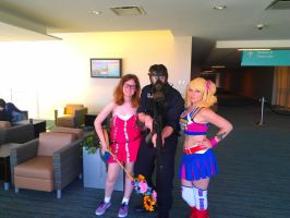 NF Comicon : Me, Lollipop Chainsaw, Kingdom Hearts by TheWarRises