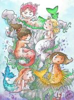 Mermaids ! by Eyral