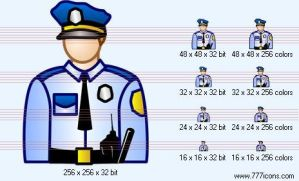 Police-officer Icon by money-icons