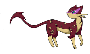 Request: Shiny Liepard by FelineFanatic