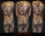 Dragon Back Piece by ktdragon740