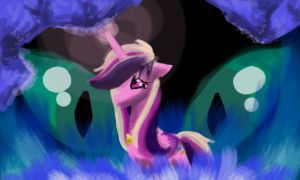 Cadance Alone by animegal12