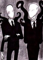 Collab: Slenderman by Cageyshick05