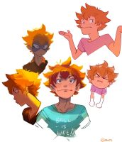 So Many Hinatas by pahnts