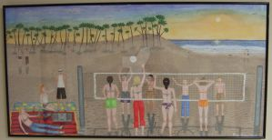 Beach Volleyball by stopsigndrawer81