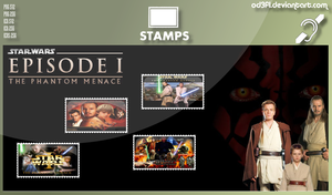 Stamps - 1999 - Star Wars Episode 1 The Phantom Me by od3f1