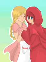 Request: Roux and Gretel by Rayvenoir