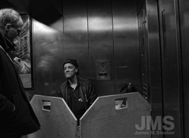Subway Elevator Operator by steeber