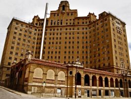 Mineral Wells: Haunted Hotel by Stock-by-Kai