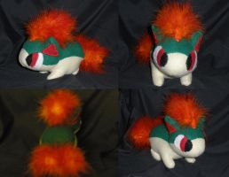 Quilava Pokedoll by GlacideaDay