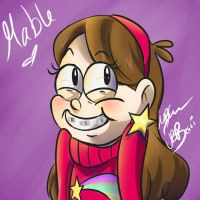 Gravity Falls-Mabel by BabyPhat268