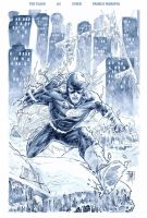 The Flash 3 Cover by manapul
