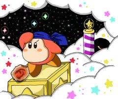 The Wandering Waddle Dee by ChronoWeapon