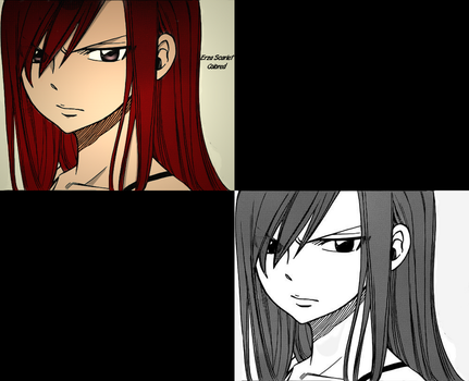 Erza Scarlet by UchihaTheDead