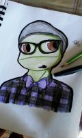 Donnie Hipster by DarkCatLuna