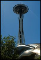 Space Needle 18 Jul 09 by urnightmare