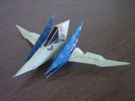 Star Fox 64 Arwing by Starfox2o12