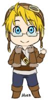 Chibi Aviator by iAlly
