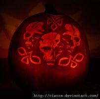 Pumpkin Carving 09 by Ciarra