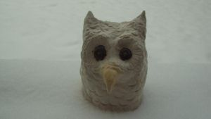 Snow Owl by its-EMIL-again