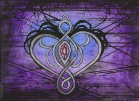 for the love of purple by paintingmama