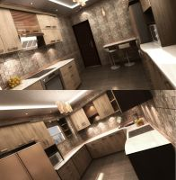Kitchen 1 by 3ESAWY