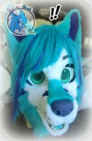 Wolf/G-Shep/Fox Mix Fursuit Head Teaser/WIP by TwerkOnThatShark