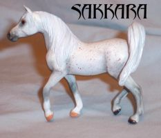 Custom breyer arabian horse by tolthorse