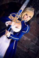 Fate/Stay Night - Saber IV by Calssara