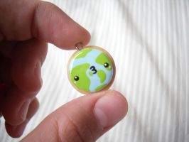 ~ Earth Cookie Charm ~ by CocoCharms