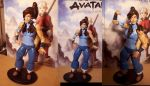Customized Korra Action Figure by Yamino