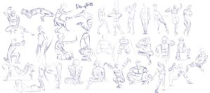 Figure exercises - Day 58 by Dante-mL