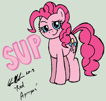 Pinkie Pie in 3 Minutes (COLOUR) by RedApropos