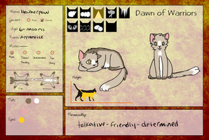 Heatherpaw by stranglerfig