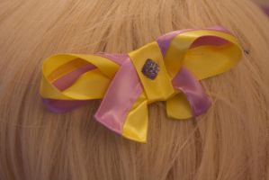 Lumpy Space Princess Hair Bow by AngelicalDesign