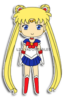 Chibi Sailor Moon by lily-adoptables
