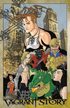 GA-HQ Challenge#3 - RPG's: Vagrant Story by Marvin000
