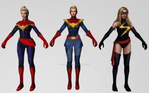 Captain Marvel Collection by Pitermaksimoff