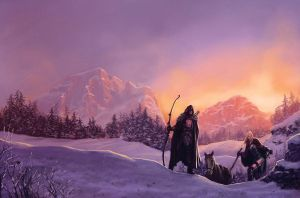The Path of ice by MarcSimonetti