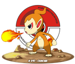 #390 - CHIMCHAR by IqbalPutra