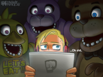 Pewdiepie_Five Nights At Freddy's by aulauly7