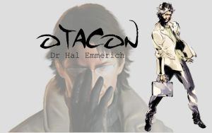 Otacon Wallpaper by Pokestine