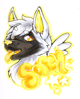 .::Soren Badge::.COPICS. by TeaBunnyy