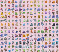 More Moemon sprites by mewzard64