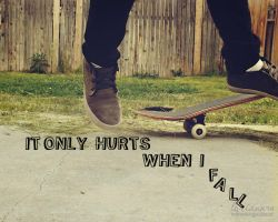 it only hurts... by imthinkingoutloud
