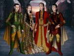 Family from the Rivendell by anie-linwelin