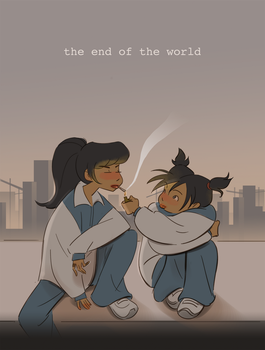 the end of the world by Ameryln