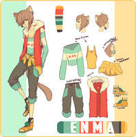 CHARACTER SHEET: Enma by NANOKUMA