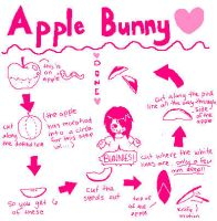 Apple Bunny Mini-Tutorial by GrayMegumi
